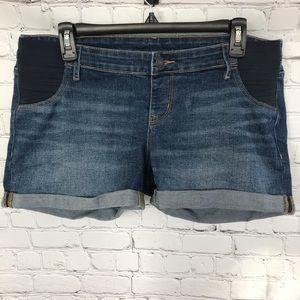 Old Navy Maternity Denim Shorts